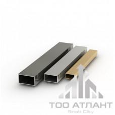 Труба алюминиевая профильная АД0 72х34х2,5